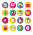 Icons Set in Flat Design Style - 02 vector image
