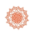 Indian Lace ornament handdrawing vector image