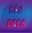 isometric now open short message element vector image