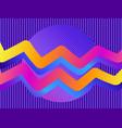 liquid wave violet gradient modern trend vector image vector image