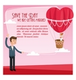 save the date wedding icon graphic vector image vector image