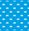 tank car pattern seamless blue vector image vector image