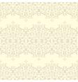 Vintage Seamless floral linen pattern vector image vector image