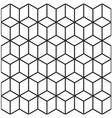 abstract 3d geometrical seamless pattern backgroun vector image