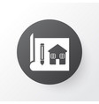 house drawing icon symbol premium quality vector image