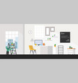 office rooms modern interiors offices with vector image vector image