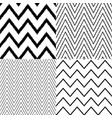 repeated chevron zigzag stripes background vector image