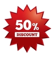 Special offer tag Star sticker Icon for sale vector image vector image