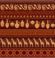 tribal ethnic seamless pattern vector image