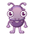 ant icon cartoon style vector image vector image