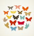 Art butterfly3 vector image vector image