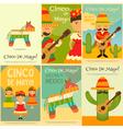 cinco de mayo posters vector image vector image