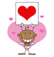 Cupid cartoon vector image vector image