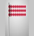 flag of monaco alternate design version national vector image vector image