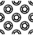 Gears and pinions seamless pattern vector image vector image