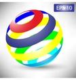 globe design vector image vector image
