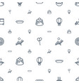 hot icons pattern seamless white background vector image vector image