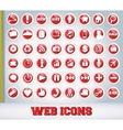 Icons Set for Web Applications vector image vector image