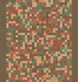 seamless digital fashion camouflage pattern vector image