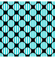 simple seamless pattern - circle design background vector image vector image