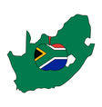 South African apple vector image vector image