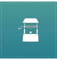 Water Well flat vector image vector image