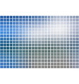white blue shades square mosaic background over vector image vector image