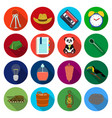 business leisure tourism and other web icon in vector image vector image