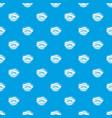 Eyelid elevation pattern seamless blue