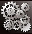 industrial business and technology vector image