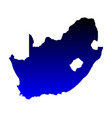 map of south africa vector image vector image
