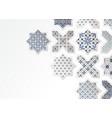 muslim holiday eid al adha greeting card close-up vector image vector image