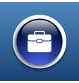 Briefcase icon Flat design style vector image vector image