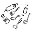 cooking ware vector image