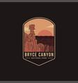 emblem patch logo bryce canyon national park