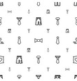 fabric icons pattern seamless white background vector image vector image