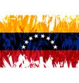 flag venezuela vector image vector image