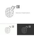 future medicine trend vector image vector image