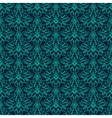 Luxury Damask seamless pattern Blue color vector image vector image