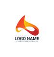 modern abstract letter a logo design editable vector image vector image