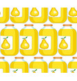 pear juice pattern vector image