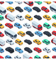 urban cars seamless texture background vector image vector image