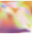 abstract blur colorful background vector image vector image