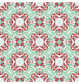 abstract seamless wavy pattern hand drawn brush vector image