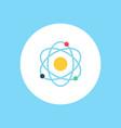 atom icon sign symbol vector image vector image
