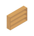 book cupboard icon vector image