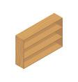 book cupboard icon vector image