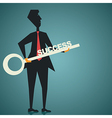 Businessman success vector image vector image