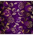 floral rose design vector image vector image