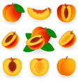 Icon set peach